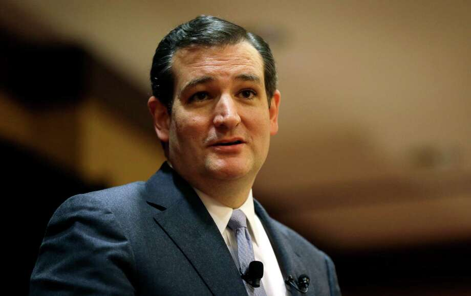 U.S. Sen. Ted Cruz, R-Texas, speaks at the Network of Iowa Christian Home Educators' state Capitol day event, Tuesday, March 18, 2014, in Des Moines, Iowa. (AP Photo/Charlie Neibergall) Photo: Charlie Neibergall, STF / AP