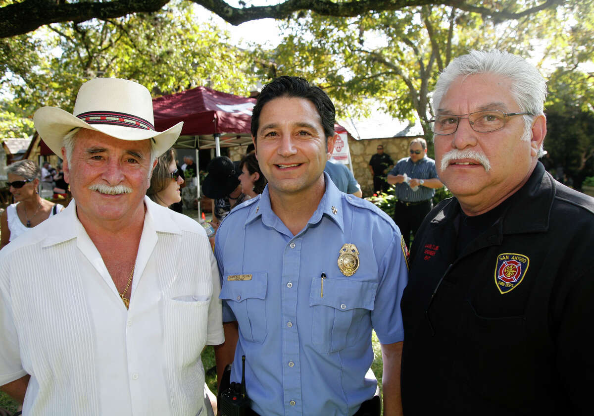 30. Lawrence Trevino (center)Title: District Fire ChiefTotal compensation: $221,279.77