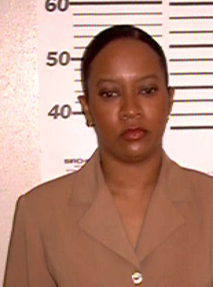 Jackqueline Cooper, arrested in 2002 on a charge of theft of service, from $20 to $500. Courtesy 	Bexar County Sheriff's Office Photo: Courtesy Photo, Bexar County Sheriff's Office