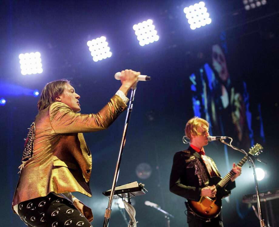 Arcade Fire performs at the Webster Bank Arena, Bridgeport CT on Tuesday, March, 18th, 2014. Photo: Mark Conrad / Connecticut Post Freelance