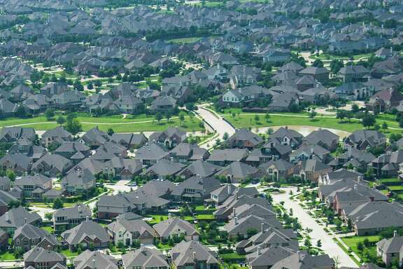 Aerial view of Bridgeland, an 11,400-acre master-planned community in the northwest Houston suburb of Cypress, TX, photographed on Thursday, May 23, 2013. ( Smiley N. Pool / Houston Chronicle )