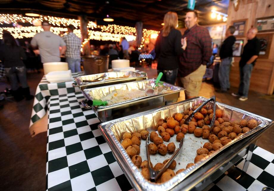 A variety of dishes are available for snacking on at Big Rich Courville's in Beaumont, Thursday, December 1, 2011. Tammy McKinley/The Enterprise