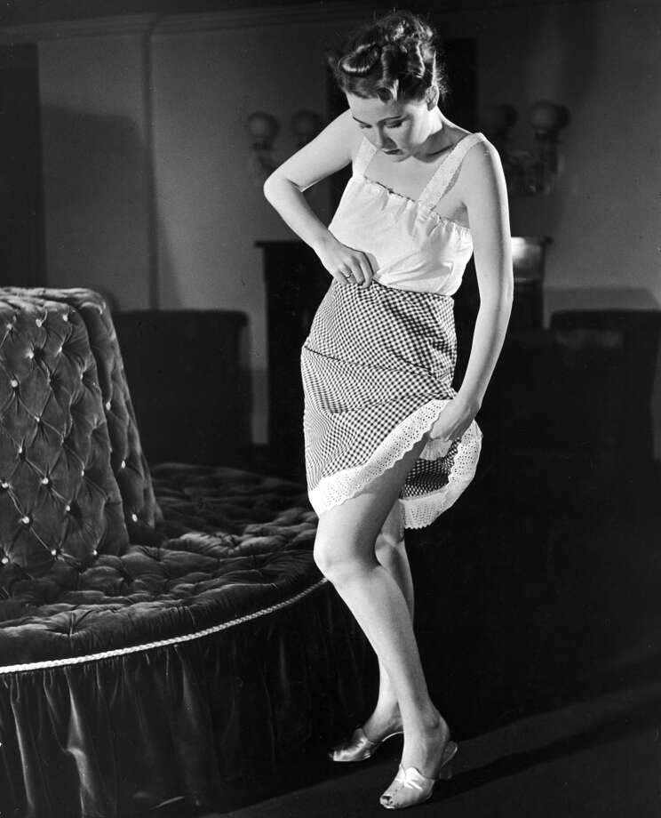 A gingham petticoat in 1939. Photo: Alfred Eisenstaedt, Time & Life Pictures/Getty Image