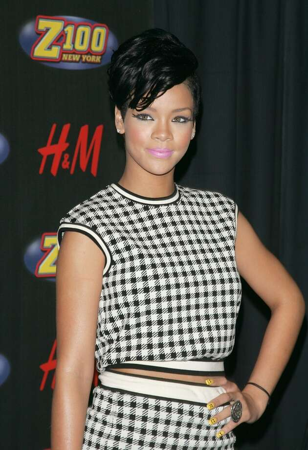 Singer Rihanna attends the  Jingle Ball at Madison Square Garden on December 12, 2008 in New York City. Photo: Jim Spellman, WireImage