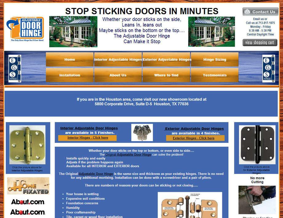 Adjustable Door HingeCreated by Erik Miller, George Voiland and Steve RaymondIt helps fix sticky doors that are not closing properly.Price: $16.99-$25 Photo: Adjustabledoorhinge.com