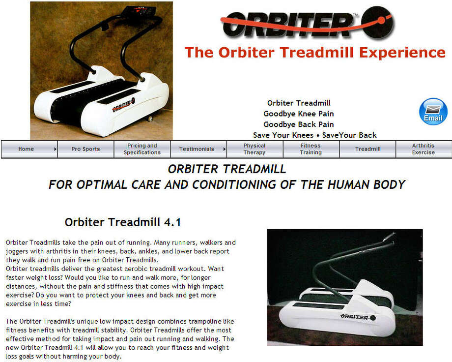 Orbiter TreadmillCreated by Clayton LeeThe treadmill has a low-impact design to make running and walking easier.Price: $11,999 Photo: Orbitertreadmill.com