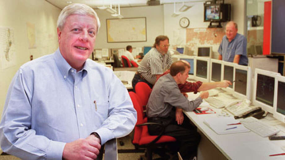 23. Kinder Morgan (ranked No. 6 in the U.S.)Brand rating: A+Value in 2014: $2.36 billionSource: BrandDirectory.comPictured: Rich Kinder in the control room at Kinder Morgan Energy Partners offices at One Allen Center at 500 Dallas. Photo: Carlos Antonio Rios, . / Houston Chronicle
