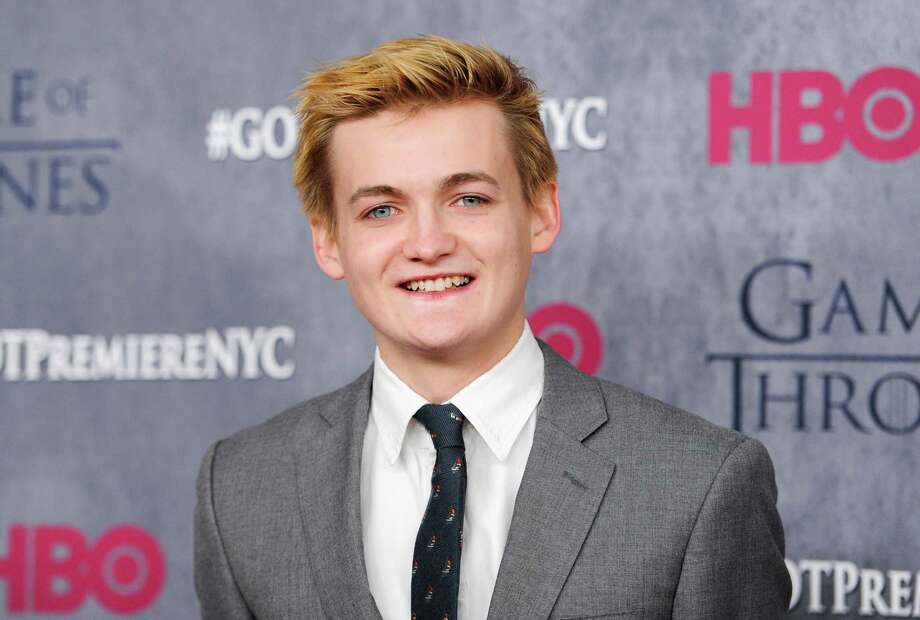 Here's Jack Gleeson looking a lot less evil at the season four premiere in Hollywood.  Photo: Evan Agostini, AP / Invision