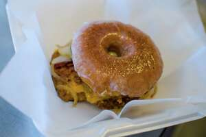 Donut Bacon Cheeseburger at Foreign Policy