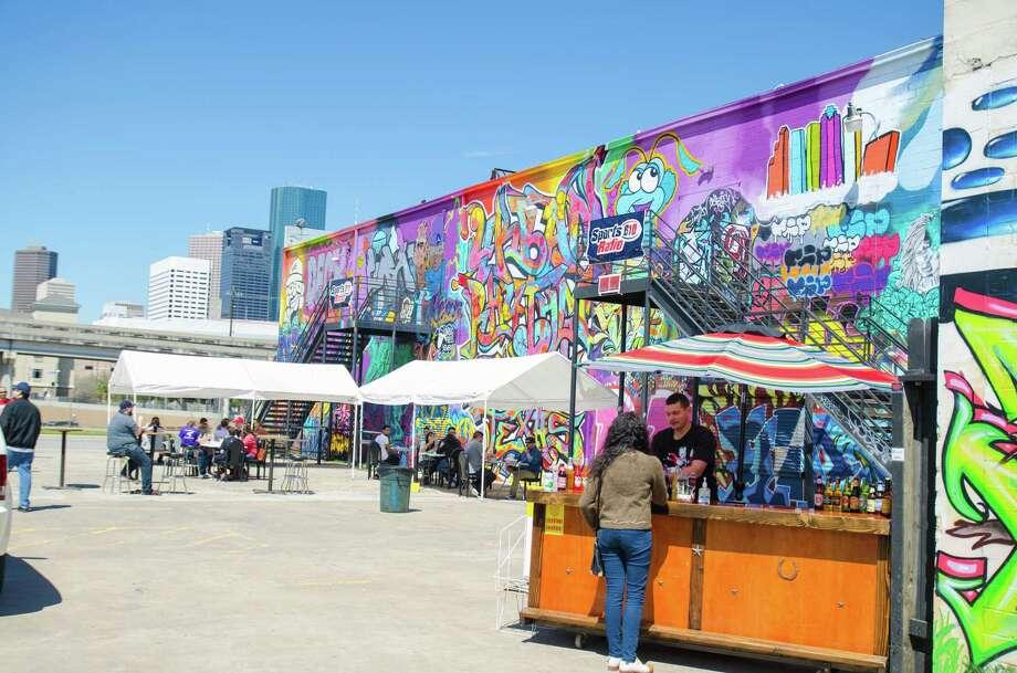 Houston Food Truck Park Location