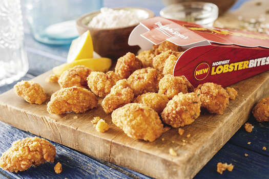 "Norway Lobster Bites at Long John Silver's: 100 percent Norway lobster tail meat, lightly breaded and deep-fried, served in creative new packaging.Total calories: 230 (for the 3.2-ounce shooter size). Fat grams: 9. Sodium: 520 mg. Carbs: 24 g. Protein: 13 g. Dietary fiber: 2 g. Manufacturer's suggested retail price: $1.99. For lobster? Seriously?What Hoffman says:These bites are a whole lot better tasting than the ""sort of like lobster"" bites from five years ago. The new Lobster Bites have a legit lobster taste. The breading is crunchy. No dipping in butter necessary. The flavor is built into the breading. All in all, pretty good deal. Treat yourself to some lobster for two bucks.   Photo: Teri Campbell / © Teri Studios 2013"