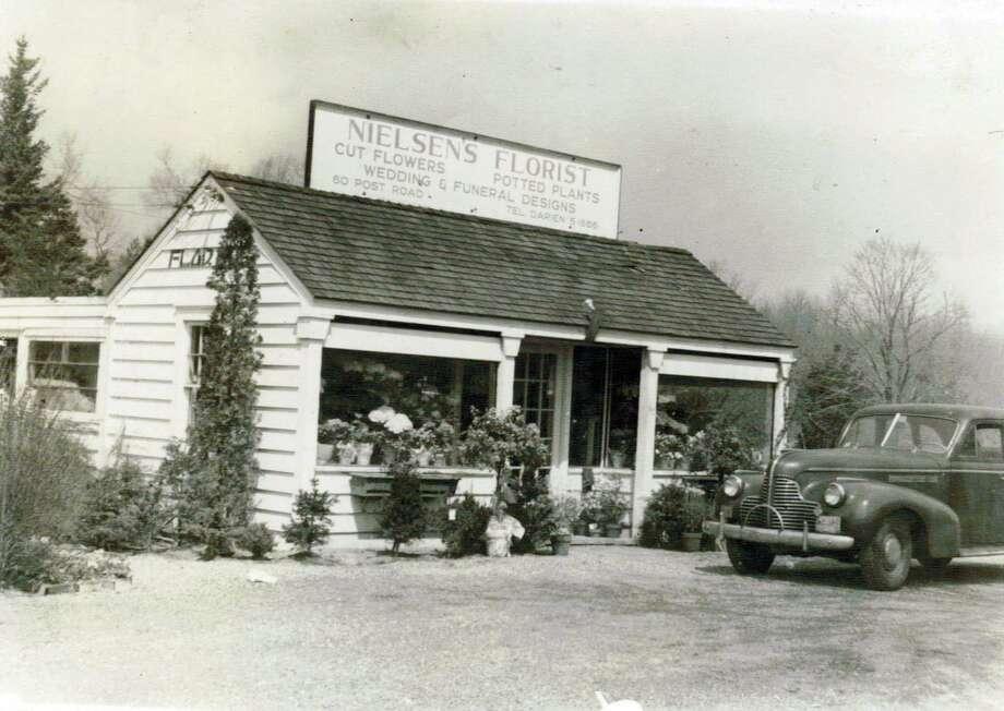 The original building of Nielsen's Florist. Photo: Contributed Photo, Contributed / Darien News Contributed