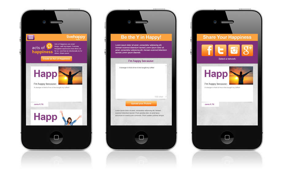 To celebrate International Day of Happiness, post an idea for spreading happiness on the Acts of Hapiness virtual wall.