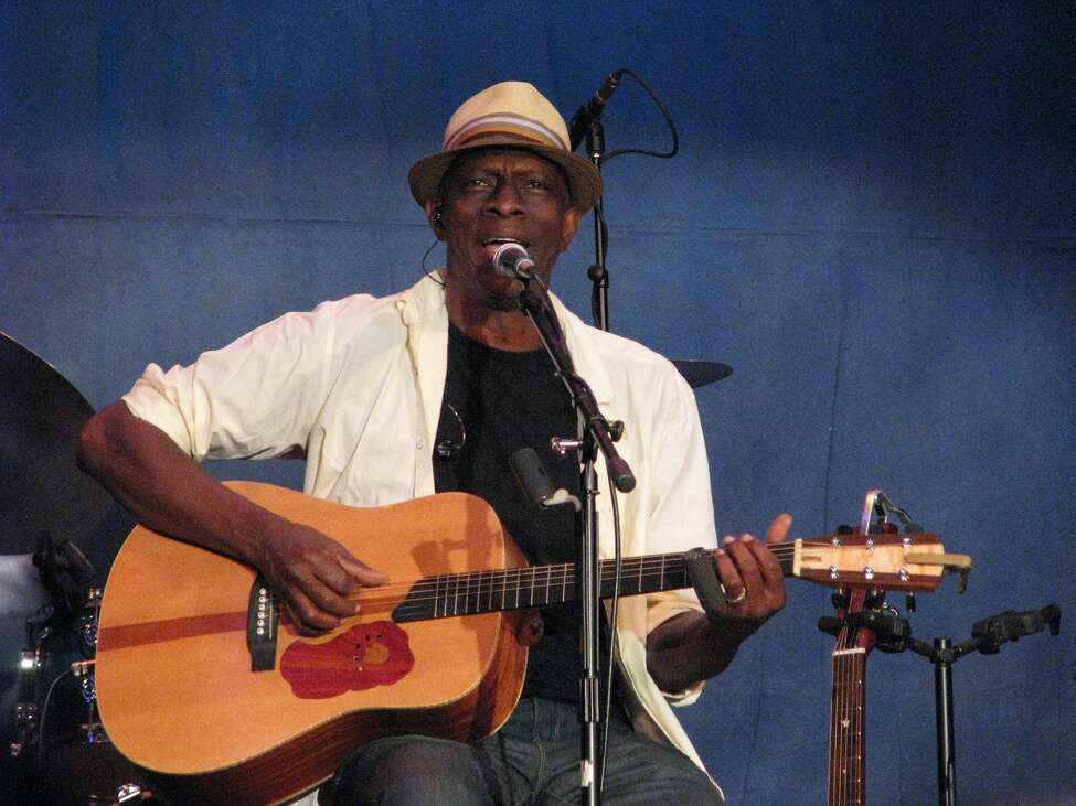 Keb' Mo' during a previous performance at The Egg in Albany.