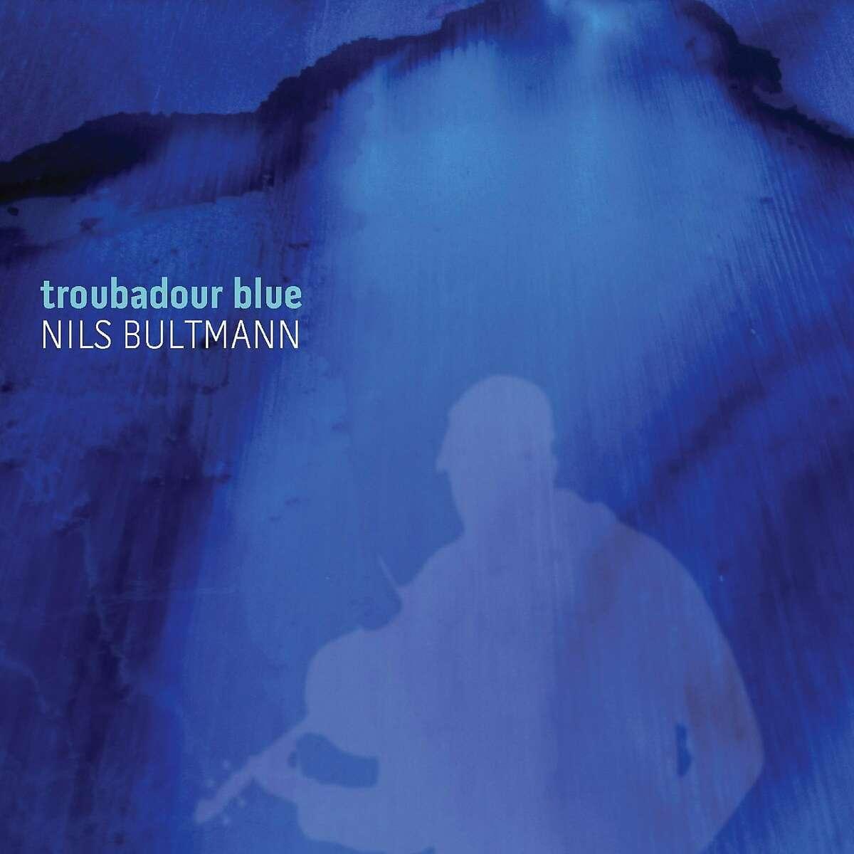 "cd cover ""Troubadour Blue"" by Nils Bultmann"