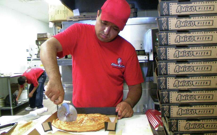 Pizza Patron is not only offering 50 percent off its entire menu at all its locations, but will be giving away a year of free 8-inch lunch pizzas.