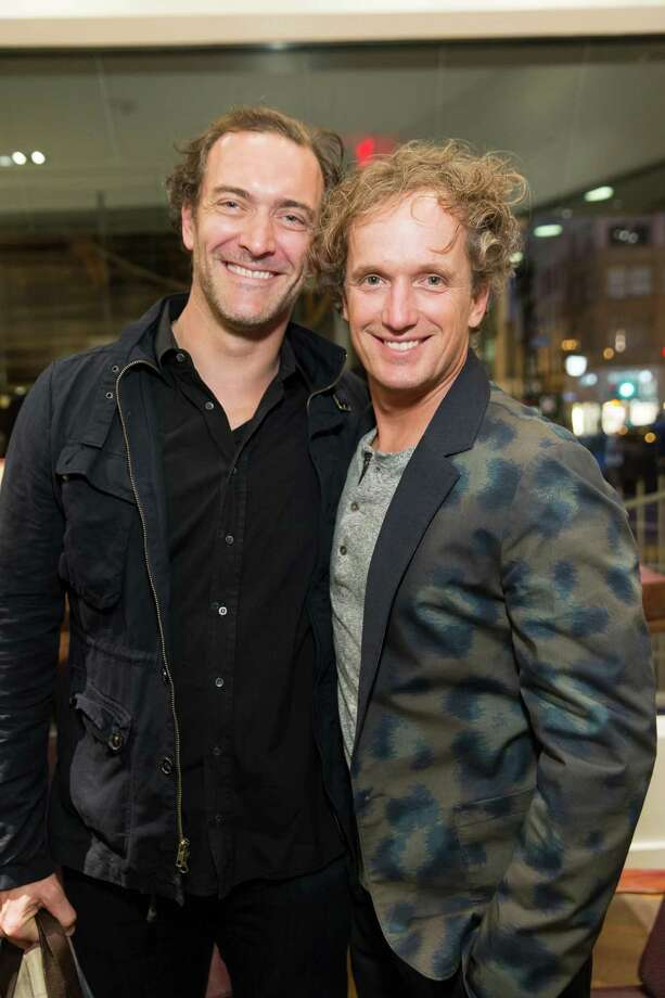Steve Waterhouse and Yves Behar Guests at the opening celebration for the new Oliver Peoples San Francisco boutique on March 13, 2014. Photo: Drew Altizer, Drew Altizer Photography / Drew Altizer Photography