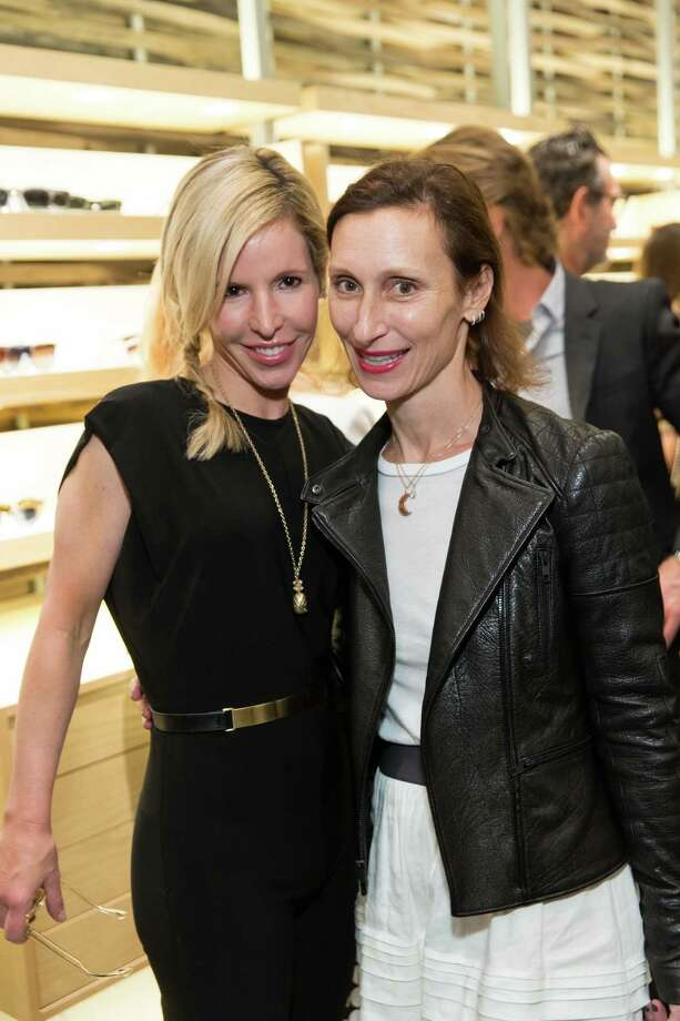 Lana Adair and Beatrix Seidenberg at the opening celebration for the new Oliver Peoples San Francisco boutique on March 13, 2014. Photo: Drew Altizer, Drew Altizer Photography / Drew Altizer Photography