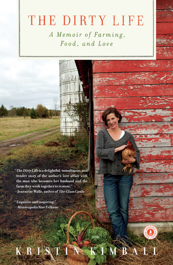"Kristin Kimball, author of ""The Dirty Life: A memoir of farming, food and love"" will speak at Schenectady County Community College on March 27."