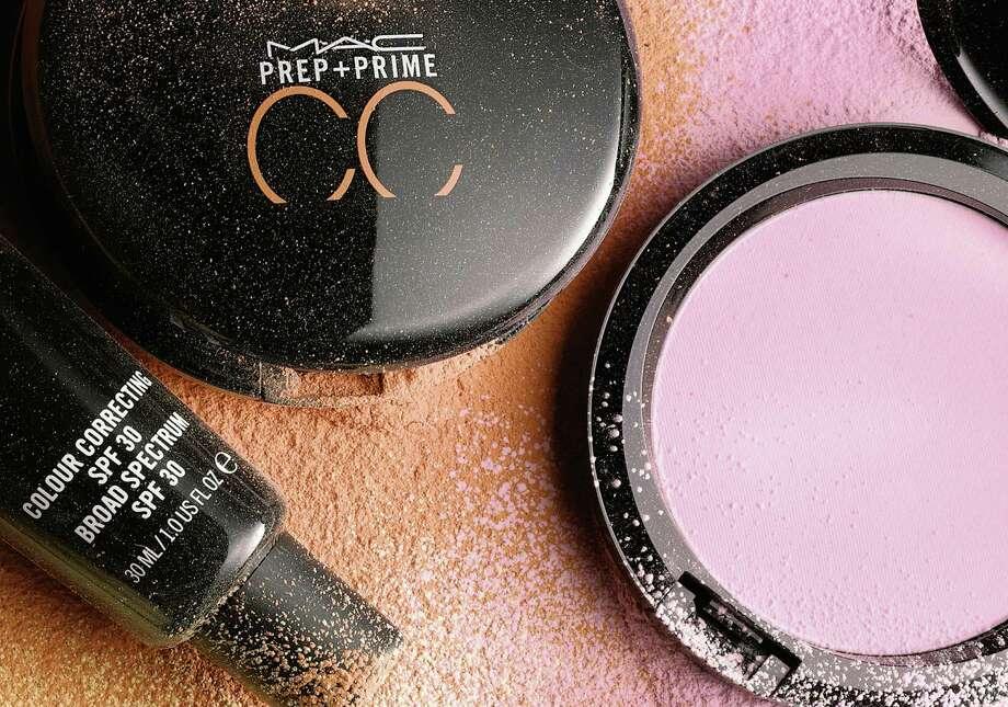 MAC Cosmetics' Prep + Prime CC Colour Correcting primers come in liquid or powder formulas. Photo: Courtesy Photo / MAC Cosmetics