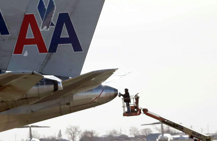 8. American Airlines (ranked No. 108 in the U.S.)Brand rating: AA+Value in 2014: $4.56 billionSource: BrandDirectory.com Photo: LM Otero / AP