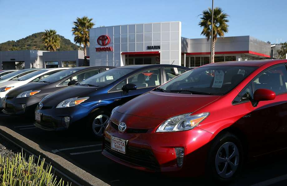 Toyota admits to misleading American consumers about issues that caused cars to accelerate despite drivers trying to slow them down. Photo: Justin Sullivan, Getty Images