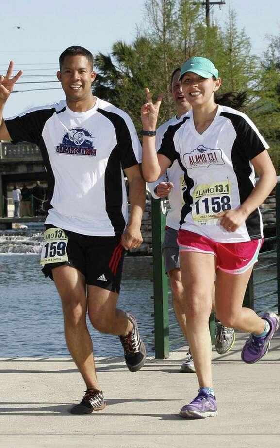Alamo 13.1 Spring 1/2 marathon in San Antonio