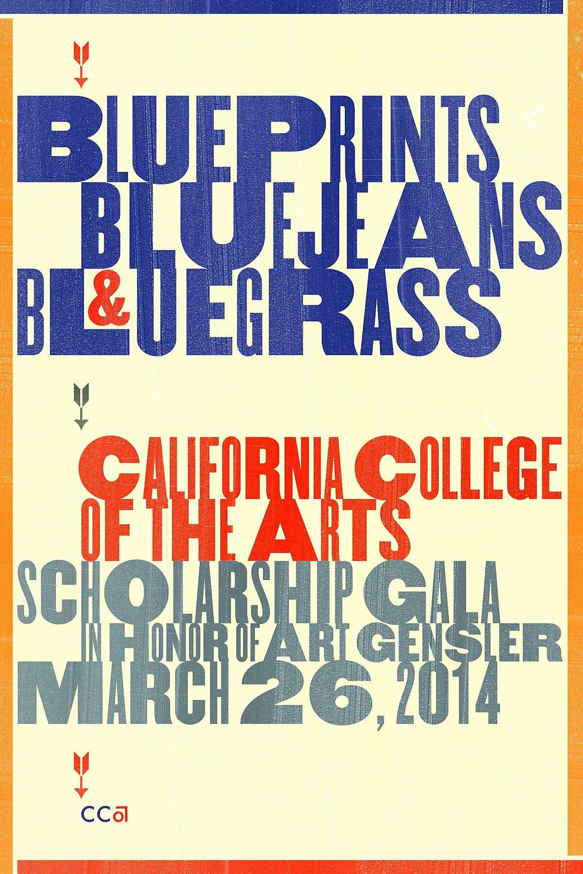 Blue Prints, Blue Jeans & Bluegrass on March 26 will celebrate the life and work of distinguished architecture and design leader Art Gensler. Net proceeds from the Gala will go to scholarships for talented and deserving students at California College of the Arts.