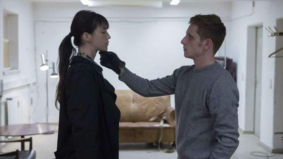 "Charlotte Gainsbourg and Jamie Bell co-star in ""Nymphomaniac: Vol. 2,"" one of two films about the life of a nymphomaniac, from Lars von Trier. Photo: Christian Geisnaes / Magnolia Pictures / ONLINE_YES"