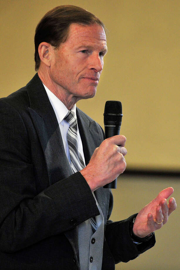U.S. Sen. Richard Blumenthal Photo: Jason Rearick / Stamford Advocate