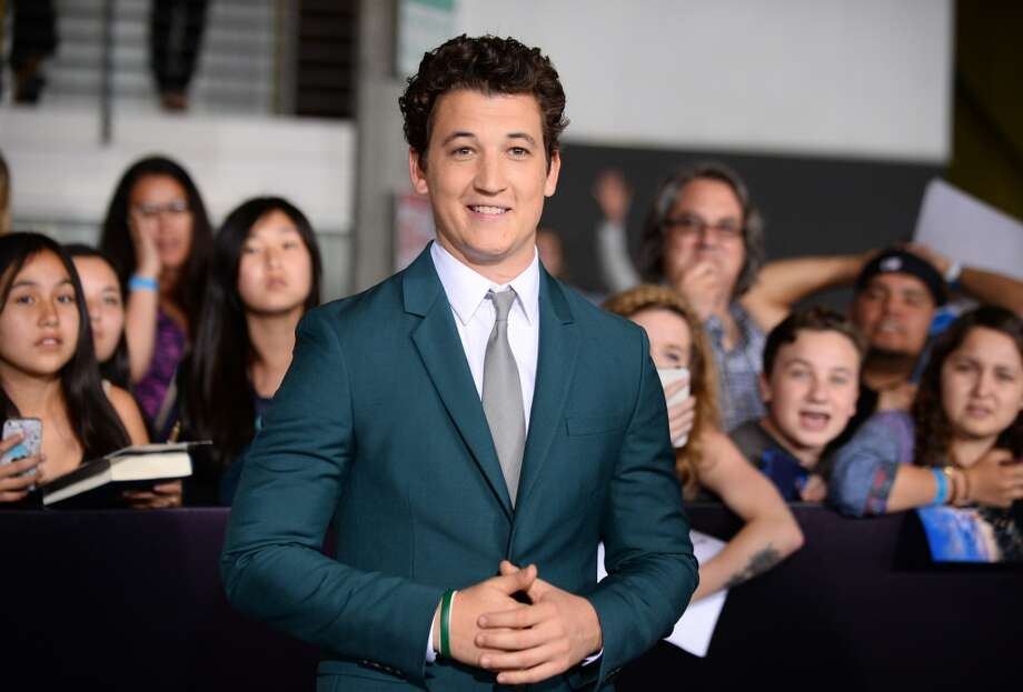 "Miles Teller arrives at the world premiere of ""Divergent"" at the Westwood Regency Village Theater on Tuesday, March 18, 2014, in Los Angeles. Photo: Jordan Strauss, Associated Press"