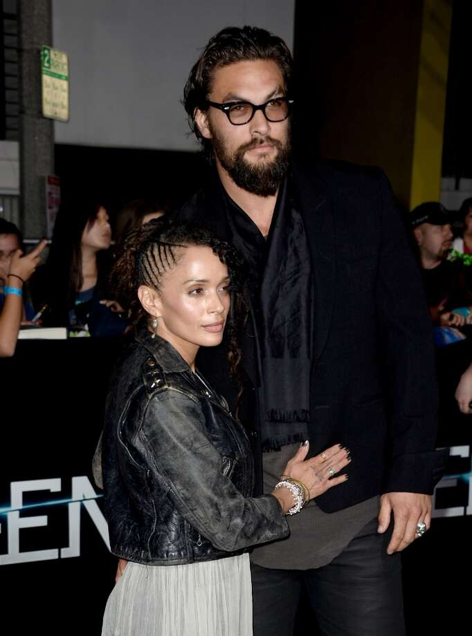 "Actors Lisa Bonet and Jason Momoa arrive at the premiere of Summit Entertainment's ""Divergent"" at the Regency Bruin Theatre on March 18, 2014 in Los Angeles, California. Photo: Frazer Harrison, Getty Images"