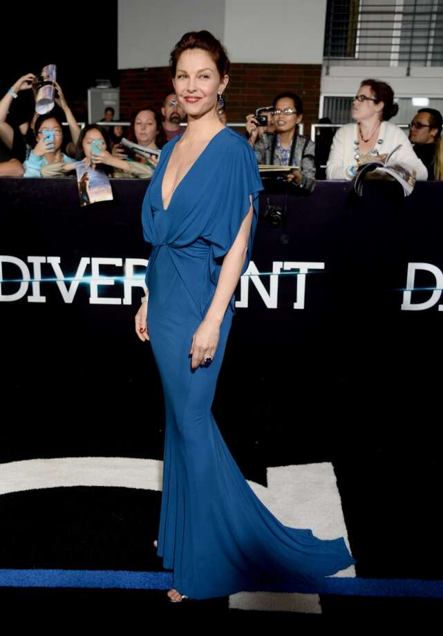"Actress Ashley Judd arrives at the premiere of Summit Entertainment's ""Divergent"" at the Regency Bruin Theatre on March 18, 2014 in Los Angeles, California. Photo: Frazer Harrison, Getty Images"