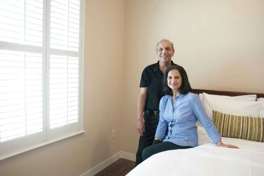 Osama and Lillian Gaber are founders of Nora's Home, Houston's first hospitality house catering to transplant patients. Photo: Spike Johnson, Freelance / Houston Chronicle