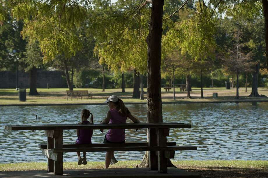 Hermann Parkis also full of playgrounds, trails and sports fields. You can even rent a paddle boat and check out the gardens or take a ride on the train.Find it at 6201 Hermann Park Drive. Photo: Nash Baker / © Nash Baker 2008