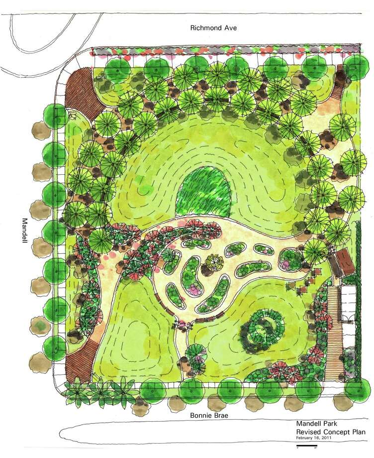 The plans reveal an attractive, low-maintenance neighborhood park.
