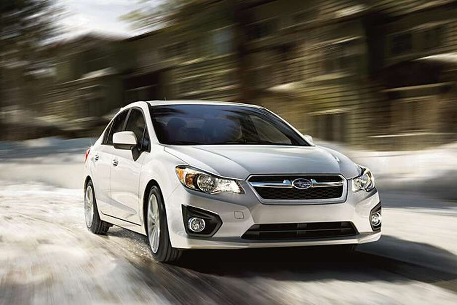 No. 10: Subaru ImprezaEstimated MPG: 27/36 city/hwyConsumer rating: 8.0/10Source: Kelley Blue Book Photo: Courtesy Of Subaru