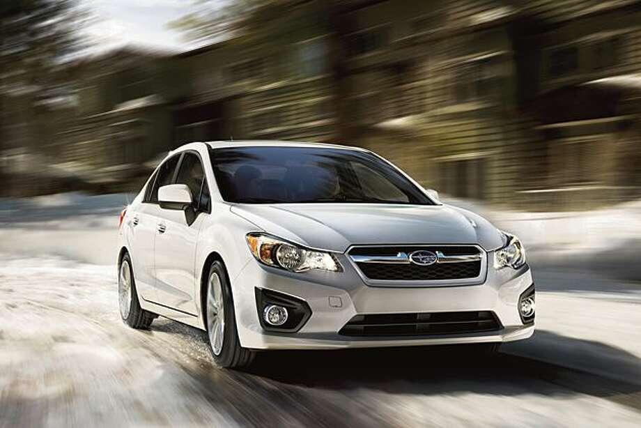 No. 10: Subaru ImprezaEstimated MPG: 27/36 city/hwyConsumer rating: 8.0/10Source:Kelley Blue Book Photo: Courtesy Of Subaru
