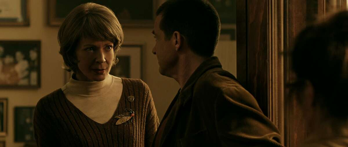 Allison Janney (left) stars as Dr. Bernice Deagan and Jason Bateman (right) as Guy Trilby in the subversive comedy Bad Words, a Focus Features release.
