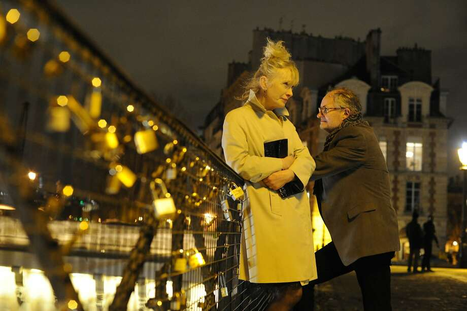 "Lindsay Duncan and Jim Broadbent return to Paris, where they spent their honeymoon, to celebrate their 30th anniversary in ""Le Week-end."" Photo: Nicola Dove, Music Box Films"