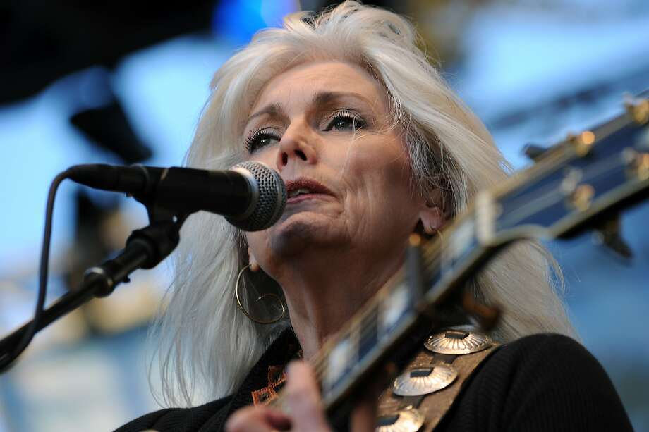 "Emmylou Harris won a 1996 Grammy for ""Wrecking Ball,"" an album otherwise barely noticed. Photo: Michael Short, Special To The Chronicle"