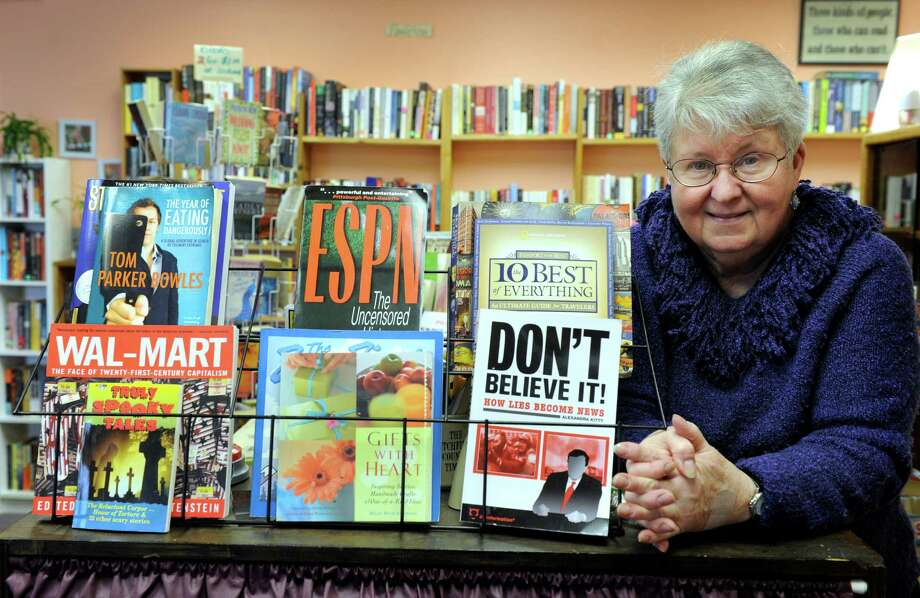 Winnie Mercado, 67, is the owner of The Paperback Exchange in Brookfield, Conn. Wednesday, March 19, 2014. Photo: Carol Kaliff / The News-Times