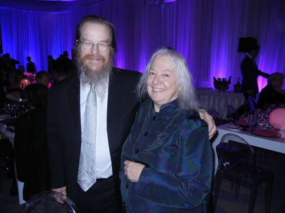 Sound wizards John and Helen Meyer at the Cal Shakes Gala. Photo: Catherine Bigelow
