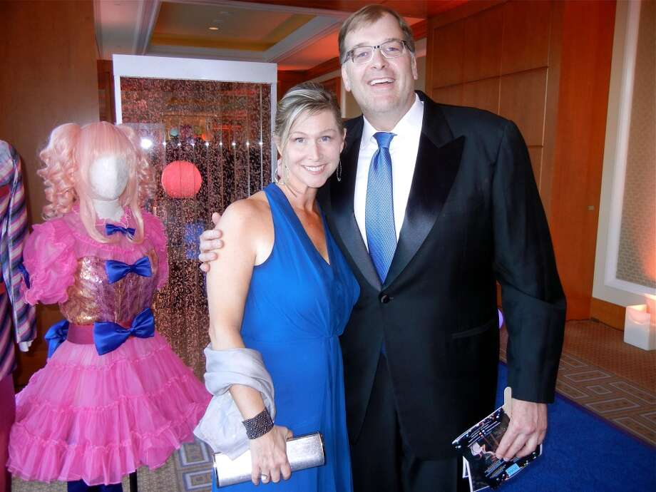 Carey Starn and her husband, Cal Shakes Trustee Frank Starn at the Cal Shakes Gala. Photo: Catherine Bigelow