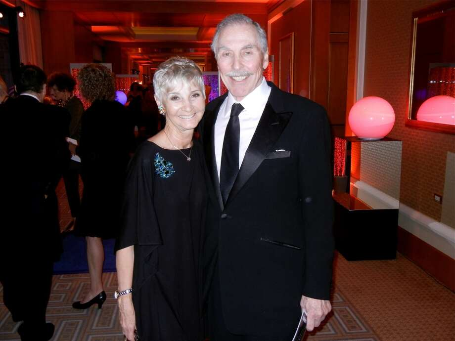 Gail and Harvey Glasser at the Cal Shakes Gala. Photo: Catherine Bigelow