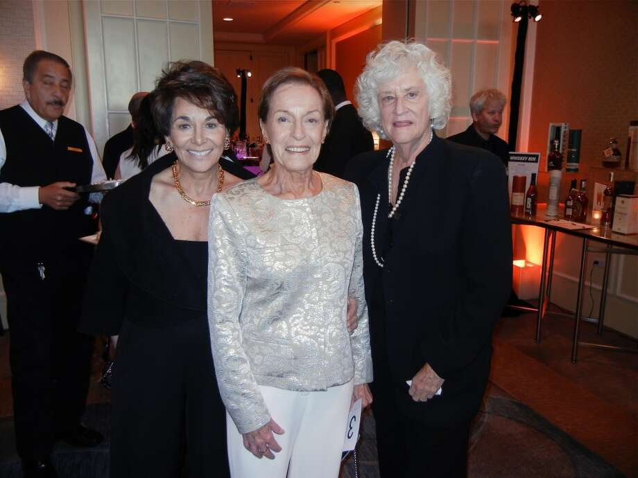 Rep. Anna Eshoo (at left) with Gina Moscone and S.F. Arts Commissioner Barbara Sklar at the Cal Shakes Gala. Photo: Catherine Bigelow