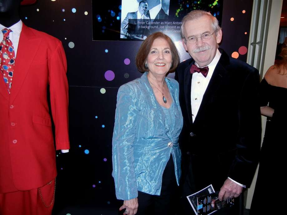 Eleanor and Richard Johns at the Cal Shakes Gala. Photo: Catherine Bigelow