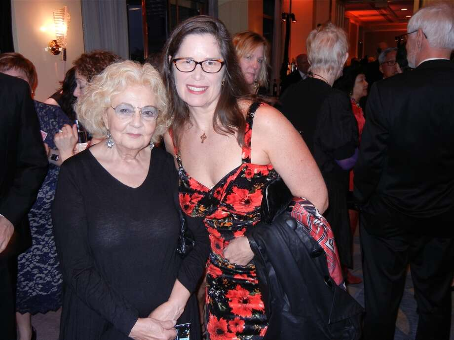 Jeannette Etheredge (left) and Pia Hinckle at the Cal Shakes Gala. Photo: Catherine Bigelow