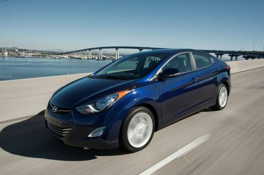Best used small cars: 2012-13 Hyundai Elantra Photo: Courtesy Of Hyundai