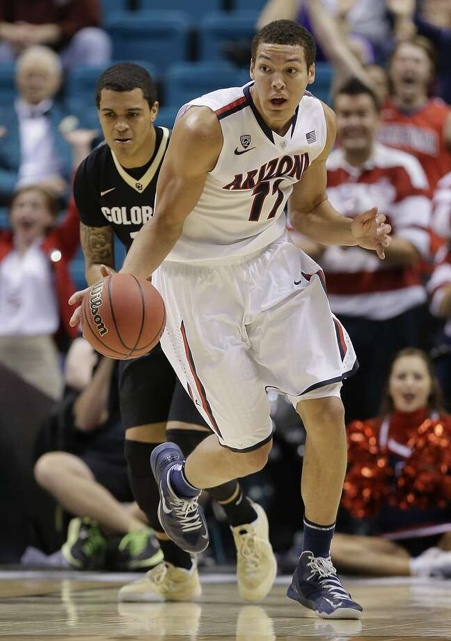 Mitty alum Aaron Gordon earned Pac-12 Freshman-of-the-Year honors at Arizona. Photo: Julie Jacobson, Associated Press